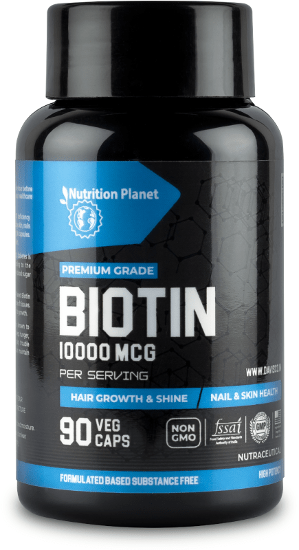 Biotin - 10,000 mcg